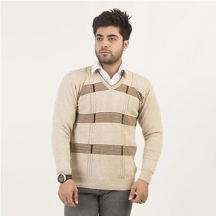 Oxford Lambswool Pullover For Men