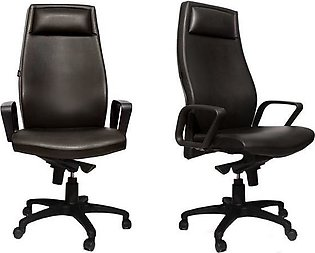 Set of 2 - Executive Office Chair - Dark Brown