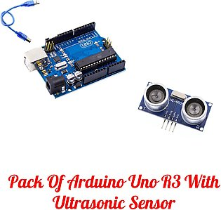 Arduino Uno R3 Atmega328 Arduino Uno Kit For Arduino Starters With HC SR04 Wi...