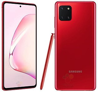 Samsung Note 10 Lite - 8GB RAM - 128GB ROM - 4500 mAh Battery - Aura Red