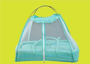 Large Baby Bed with Mosquito Net In Organic Soft Cotton