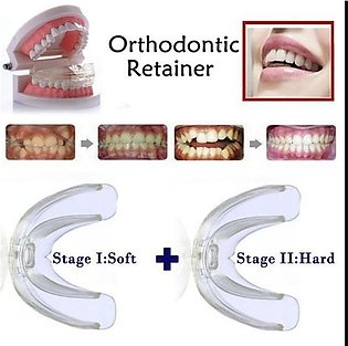 (Soft + Hard) 2 Stages Tooth Orthodontic Braces Appliance Dental Braces Silicon…
