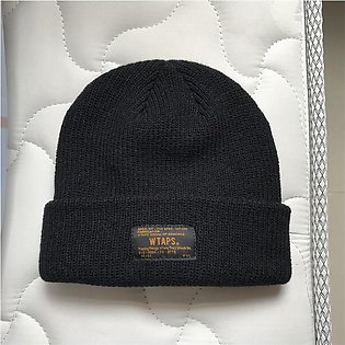 WTAPS Beanie Winter Hats For Men Women Ladies Acrylic Cuffed Skull Caps Knitted…