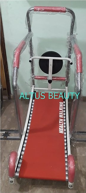 High Quality Manual Roller Treadmill With Twister - 23 Rollers - Multicolour