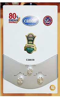 Canon Instant Geyser JDC12 - 8 Litre - Top Metal - White
