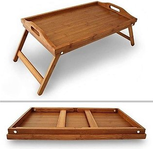 Laptop Table Bed Table Study Table Foldable Multi functional Wooden