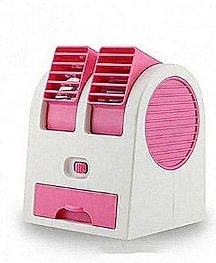 Telebrands Mini Air Conditioner Shaped Cooler Fan