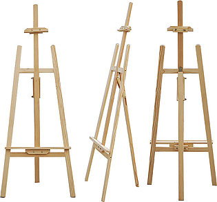 Wooden easel for canvas 5 ft for painting
