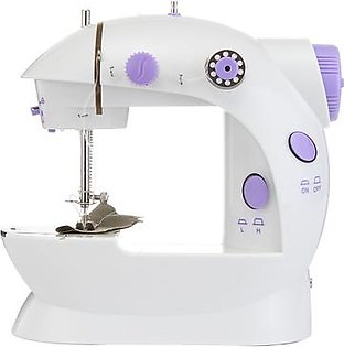 Portable Home Handwork Electric Mini Sewing Machine With Led