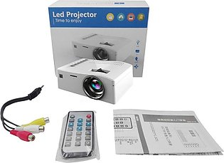TE Video Projector UC18 1080P HD Home Entertainment LCD Theater USB HDMI Project