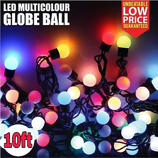 Multi Colour LED Automatic Color Changing RGB Globe Ball Fairy Light String for…