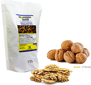 Mountain maid walnuts halves and peices  shelled english walnuts US imported