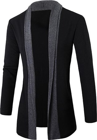 Stylish Men Fashion Cardigan Slim Long Sleeve Casual Coat