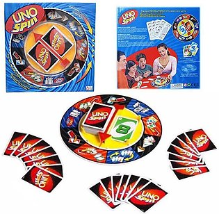 Uno Spin Wheel and Cards Game