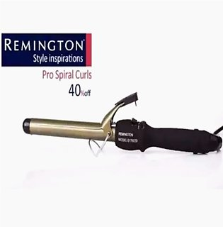 Professional Hair Curler with temperature control hair curling tong Black
