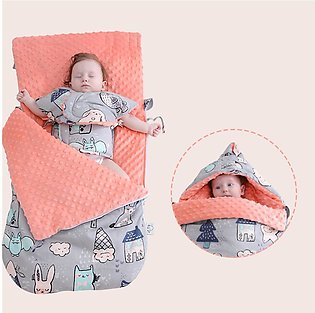 Baby Warm Larger Thickening Sleeping Bag Soft Cotton Blankets Sleeping Bag