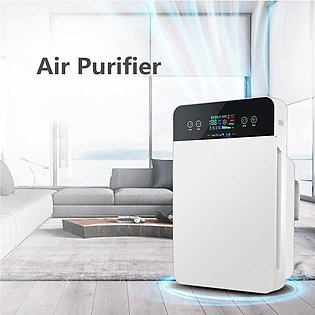Portable Remote Control Air Purifier Cleaner Timer HEPA Dust Allergies Odor A...