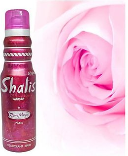 Shalis Woman Imported Perfumed Frangance Body Spray Deodorant for Girls Women Special Gift - 175 ml