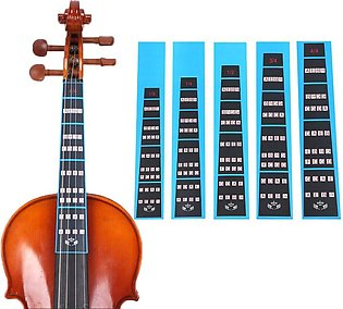 Violin 4/4 Finger Guide /Fingerboard Sticker Fret guide Label Finger Chart