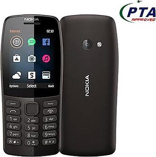 Nokia 210 - 2.4  - 16Mb Ram- Dual Sim Camera With Flash