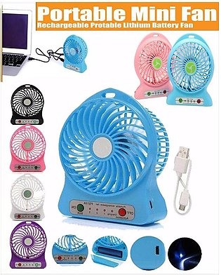Mini Portable Rechargeable Fan