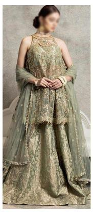 Shahjahan luxury wedding dress for Women