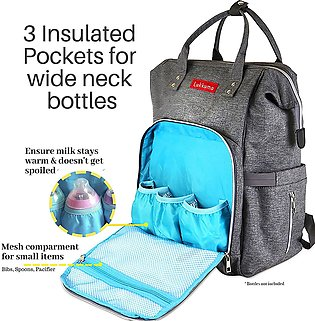 Bag baby care Backpack baby care Baby diaper Bag Backpack for mummy Large Cap...