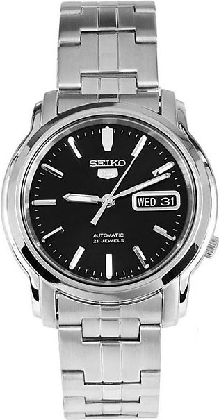 Seiko 5 Gent Watch SNKK71K1Q - Stainless Steel Gents Automatic Analogue