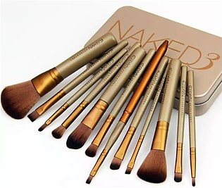 Pack Of 12 Professional Makeup Cosmetic Brushes Set - Nkd