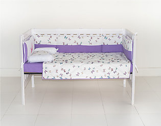 Cot bedding Butterfly Serenade 8 Pieces Set for Babies by SEJ