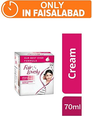Fair & Lovely 70gm Jar (One day delivery in Faisalabad)