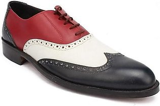 Multicolor Leather Americas Butler Shoes
