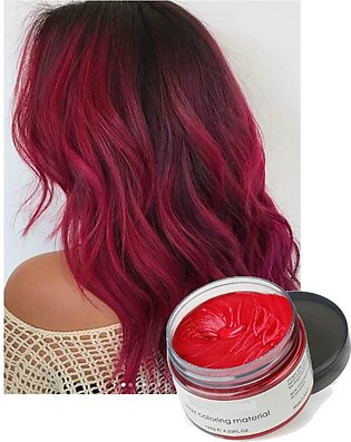 Hair Color Temporary Styling Wax - Burgundy