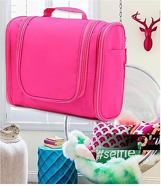 Travel Makeup Cosmetic Toiletry Zip Pouch Magnificent Bag
