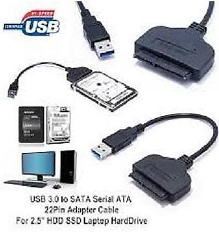 USB 2.0 to SATA HDD Cable