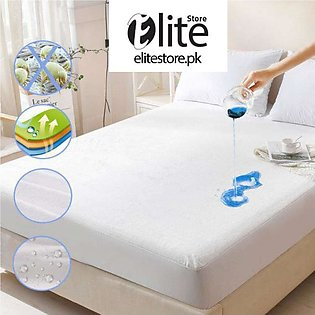 Waterproof Mattress Protector Double Fitted Bed Sheet Size: 72 X 78