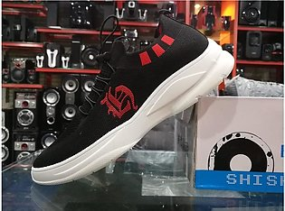 New Black Running Sneakers Shoes For men