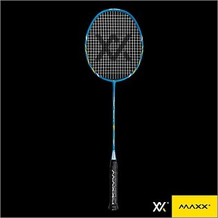 MAXX BLIZZARD M1Original - Maxx Badminton Racket With Strung+Maxx Logo Racket