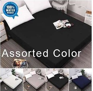 Waterproof Mattress Cover - Bed Cover - Fitted Cover - Dust Mite Protection - Hypoallergenic - Can Cover Spring Mattresses