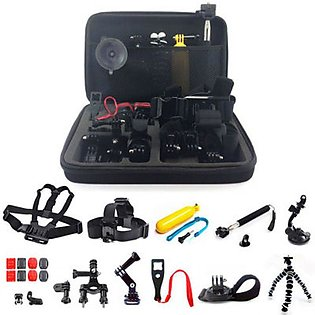 Sports Camera Accessory Set 23 In 1 Chest Lead Large Bag For Sj4000