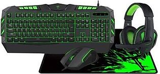 Gaming Keyboard/Mouse/Mousepad/Headset 4 in 1 set T-TGS002 Tdagger