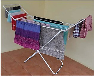 Folding Cloth Dryer Stand White Premium Quality