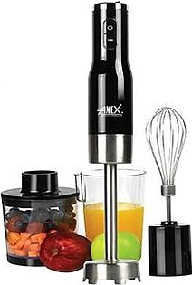 Anex Deluxe Hand Blender With Beater And Chopper