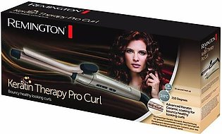 Remingtonn Imported Keratin Therapy Pro Curls Hair Curler - for smooth and shin…