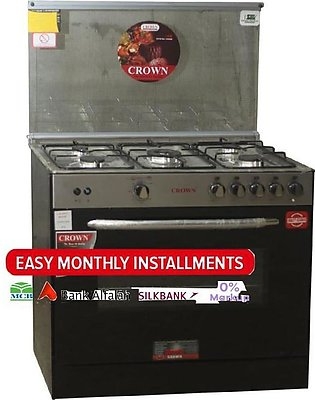 Crown Cooking Range 34 - G - Black