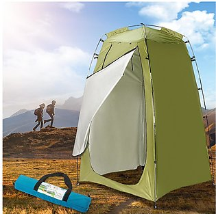 Portable Outdoor Shower Bath Tents Changing Fitting Room Tent Shelter Camping B…