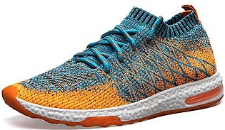 Men Sneakers Running Shoes Lightweight Breathable Mesh Sports Shoes Jogging Foo…