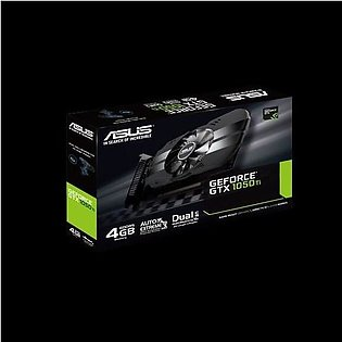 ASUS Phoenix GeForce® GTX 1050 Ti 4GB GDDR5 is the best for compact gaming PC...