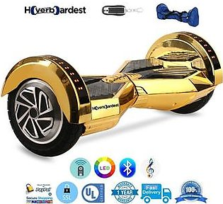 Uro Hover Board With Bluetooth Speakers + Lights + Remote + Bag