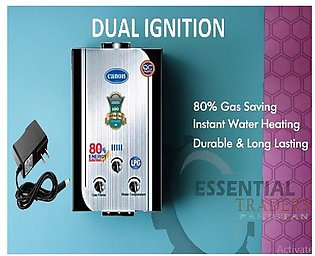 CANON Instant Gas Water Heater Geyser 6 to 8 ltrs  NG + LPG supported ( Officia…